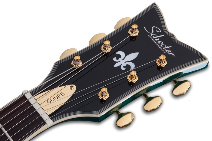 COUPE GREEN HEADSTOCK