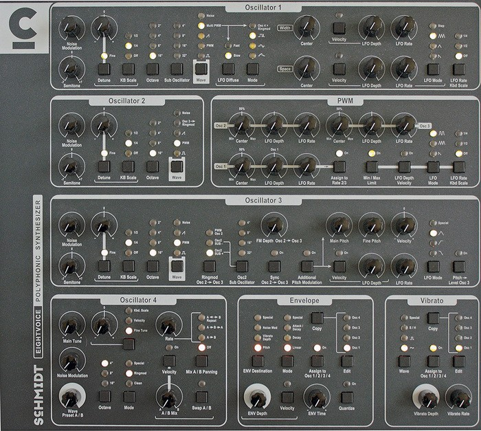 Schmidt Eightvoice Polyphonic Synthesizer (69611)
