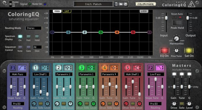 Selig Audio Coloring EQ (29346)