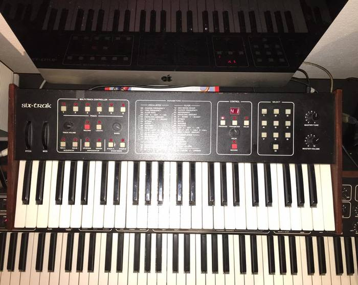Sequential Circuits Six-Trak romainlabaye images