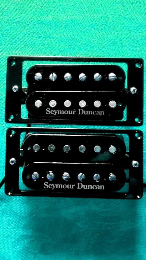 Seymour Duncan Hot Rodded Humbucker SH-4 and SH-2 Set (66777)