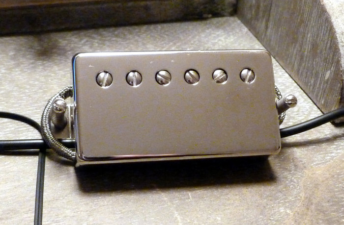 Seymour Duncan SH-55B Seth Lover Model Bridge - Nickel Cover mroc images