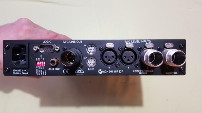 Shure SCM410 (39740)