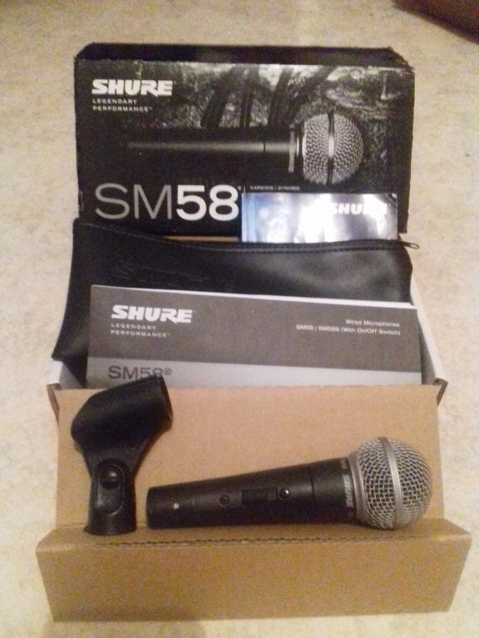 Shure SM58 provoc' images