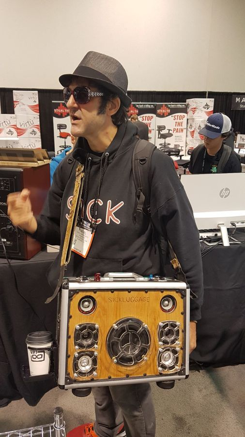 Shaboom at NAMM