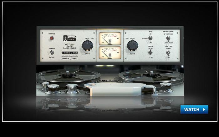 Slate Digital VTM Virtual Tape Machines