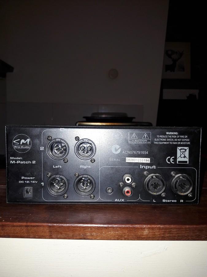 SM Pro Audio M-Patch 2 (59261)