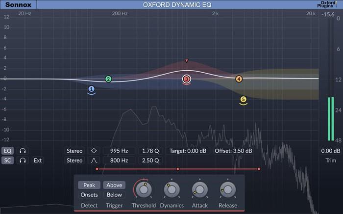 Sonnox Oxford Dynamic EQ