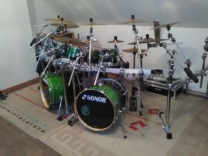 Sonor Essential Force Studio Set - Green Fade (47421)