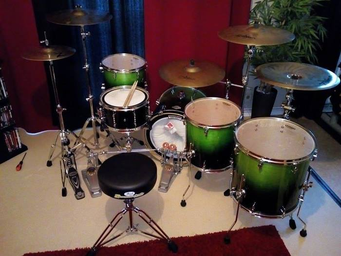 Sonor Essential Force Studio Set - Green Fade (77939)