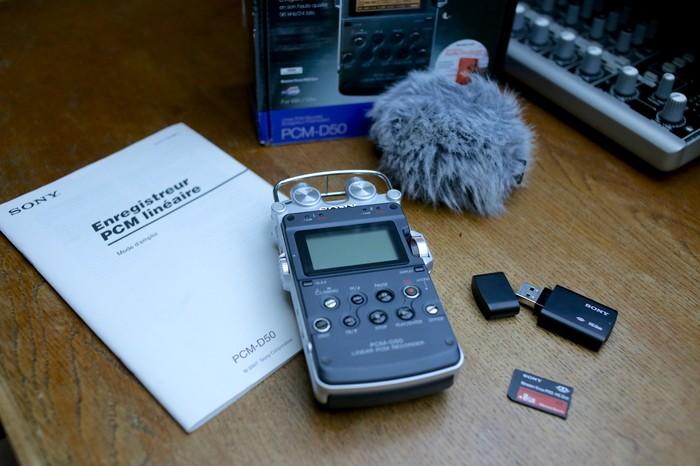 Sony PCM-D50 (8222)