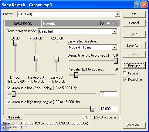 Sony Sound Forge 7.0