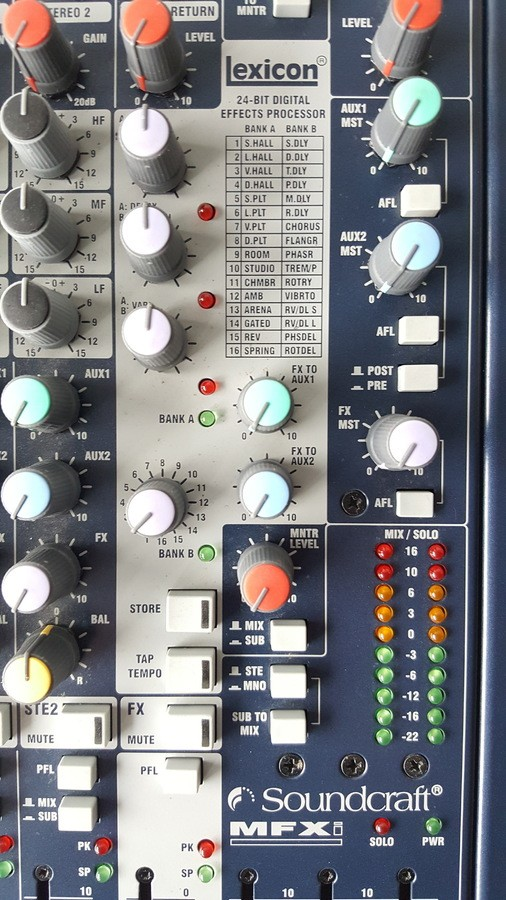 soundcraft mfxi 3