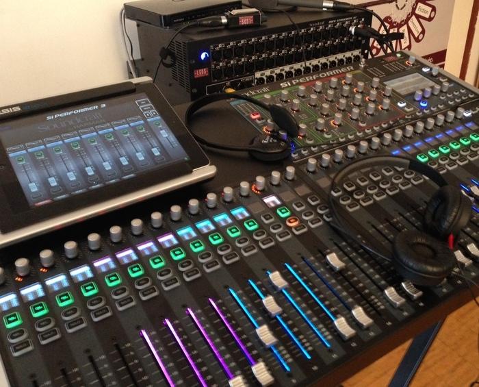 soundcraft si performer 3 image 848647 audiofanzine. Black Bedroom Furniture Sets. Home Design Ideas