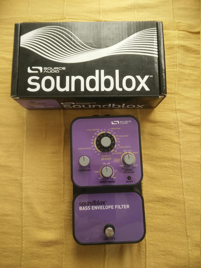 Source Audio Soundblox Bass Envelope Filter (61262)