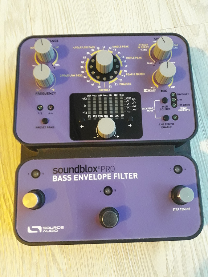 Source Audio Soundblox Pro Bass Envelope Filter lezzzouave images