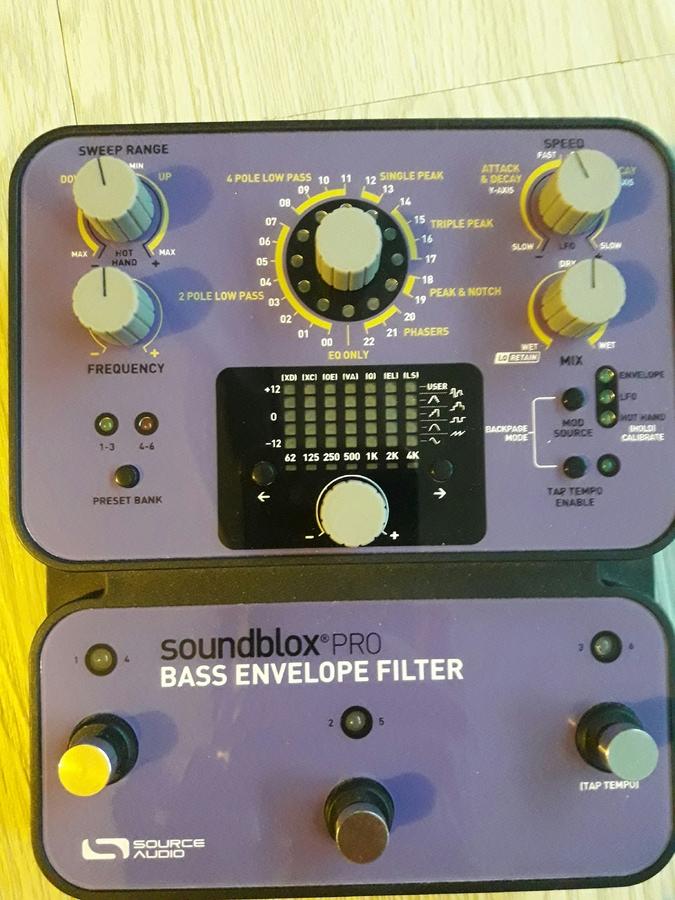 Source Audio Soundblox Pro Bass Envelope Filter lezzzouave images