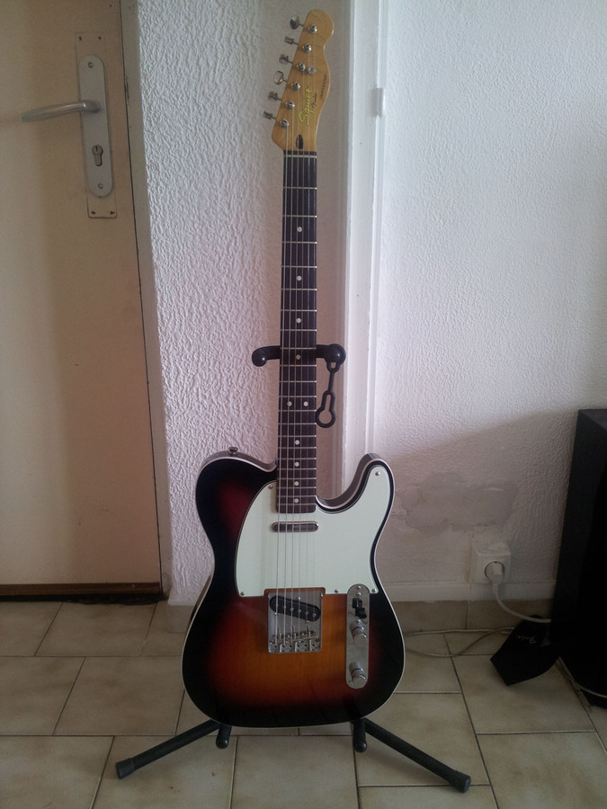 Squier [Classic Vibe Series] Telecaster Custom - 3-Color Sunburst Rosewood