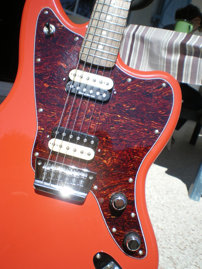 squier vintage modified jaguar hh fiesta red rosewood image 589870. Cars Review. Best American Auto & Cars Review