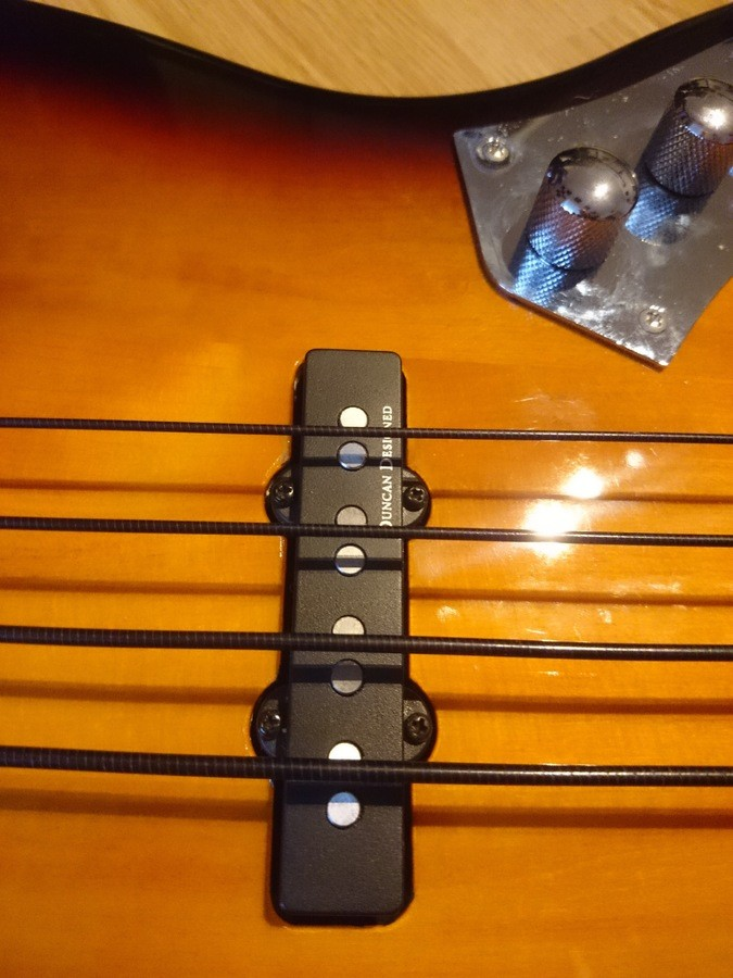 Squier Vintage Modified Jazz Bass Fretless (28807)