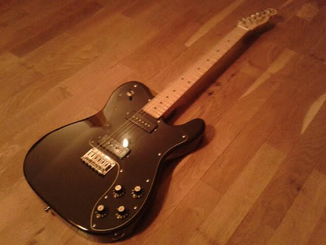 Squier Vintage Modified Telecaster Custom art of sound images