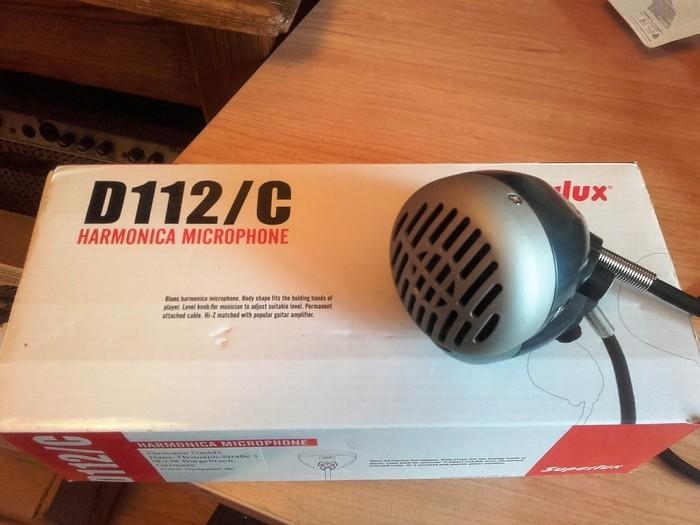 Superlux D112/C Harmonica Microphone (75748)