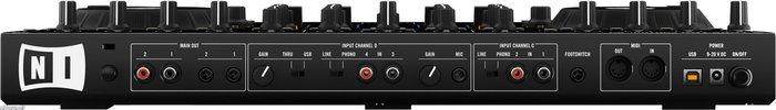 NI Traktor Kontrol S4 controller backview ada11c19a4e831e06fda7733341e3d05