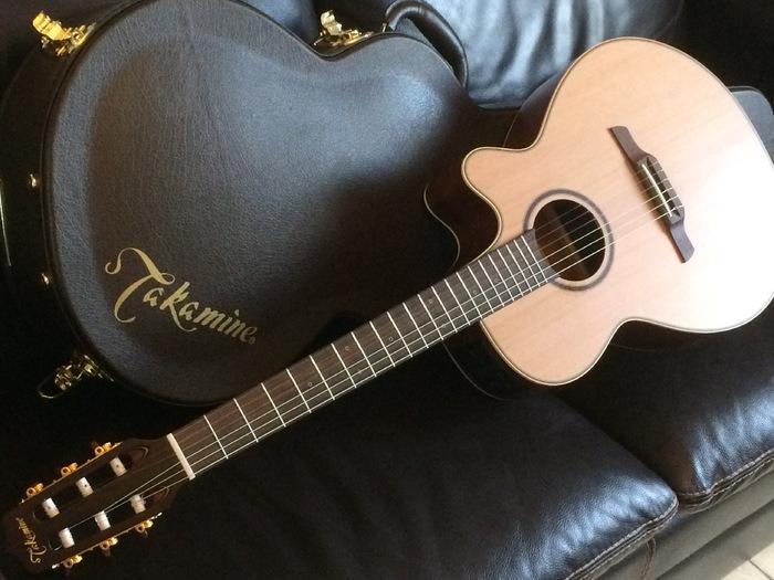 guitare electro acoustique nylon takamine p3fcn picardie. Black Bedroom Furniture Sets. Home Design Ideas