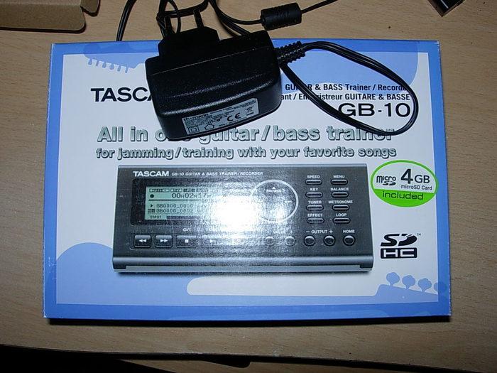 Tascam GB-10 Guitar/Bass Trainer/Recorder (56248)