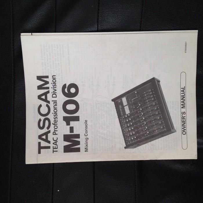 Tascam M-106 (66153)