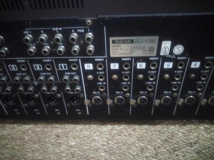 Tascam M-308