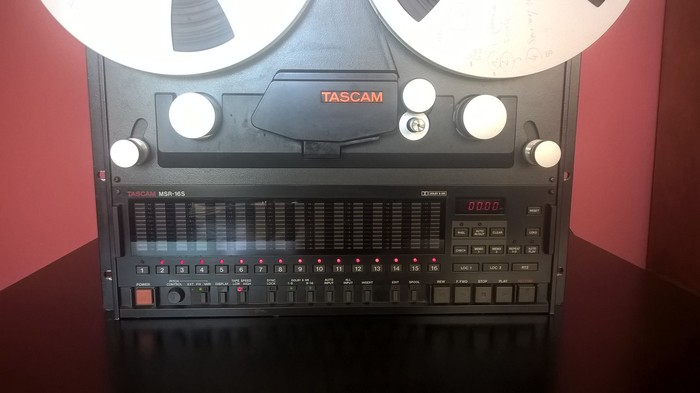 Tascam MSR 16S Synthy craft images