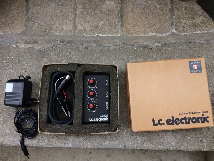 TC Electronic Integrated Preamplifier