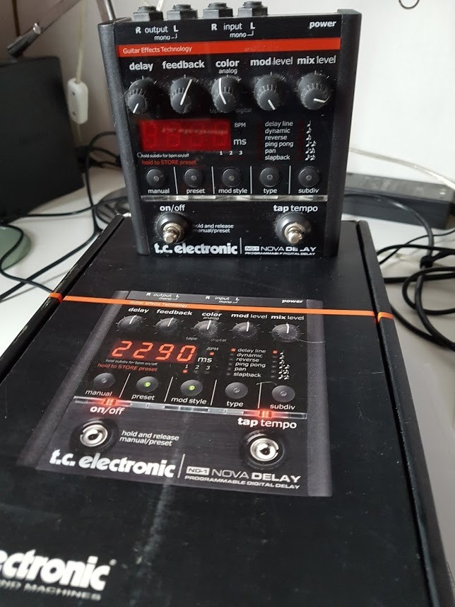 TC Electronic ND-1 Nova Delay (11243)