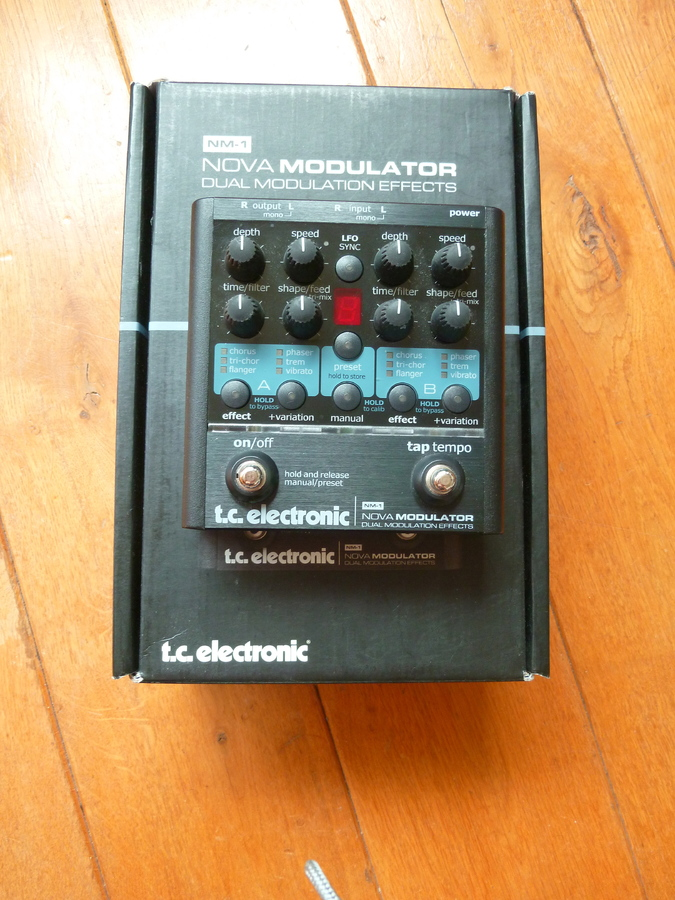 tc electronic nova modulator manual