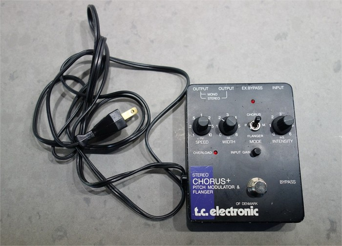 TC Electronic SCF Stereo Chorus Flanger absolutgreg images
