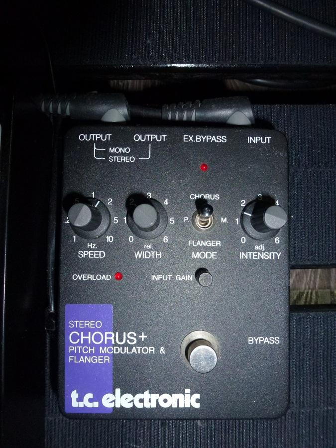 photo tc electronic scf stereo chorus flanger tc electronic scf stereo chorus flanger 65004. Black Bedroom Furniture Sets. Home Design Ideas