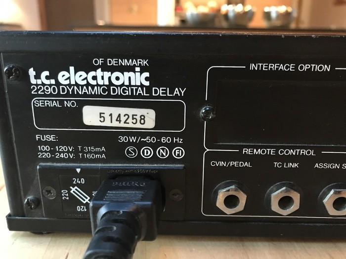 TC Electronic TC 2290 (90548)