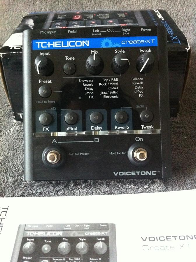 tc helicon voicetone create xt manual