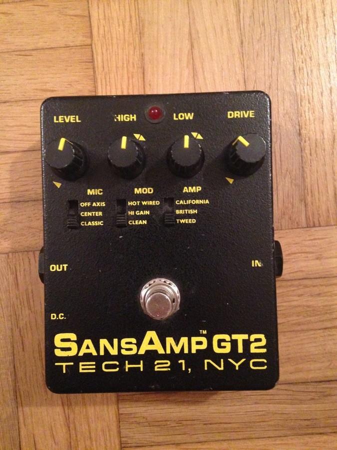 tech 21 sansamp gt2 1st edition 1998458