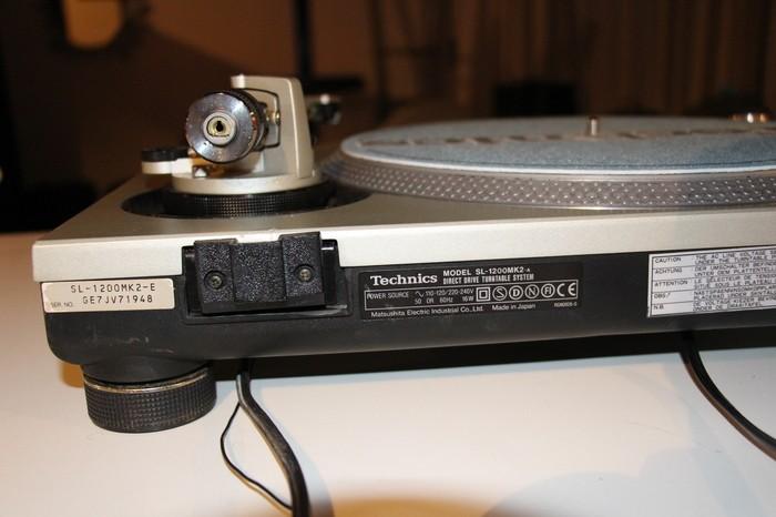 Technics SL-1200 MK2 (96929)
