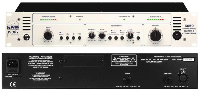TL Audio 5050 Mono Tube Preamp & Compressor (12750)