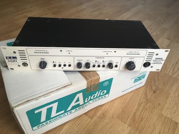 TL Audio 5050 Mono Tube Preamp & Compressor RyannOiseau images