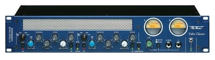 TL Audio C-1 2-Channel Tube Compressor (42188)