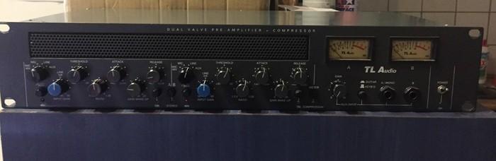 TL Audio C-1 Dual Valve Compressor (81123)