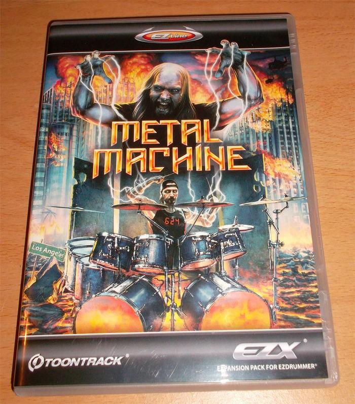 ezdrummer metal machine