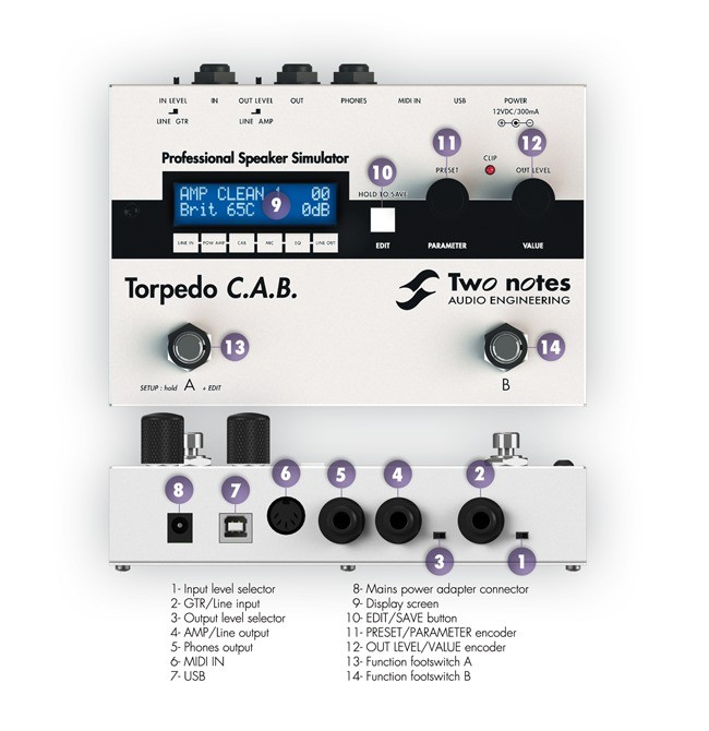 Two Notes Audio Engineering Torpedo C.A.B. (Cabinets in A Box) (12853)