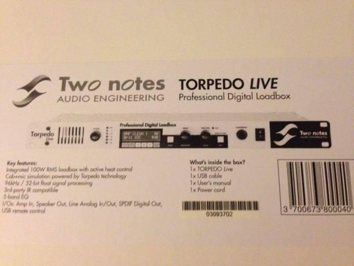 two notes torpedo studio manual