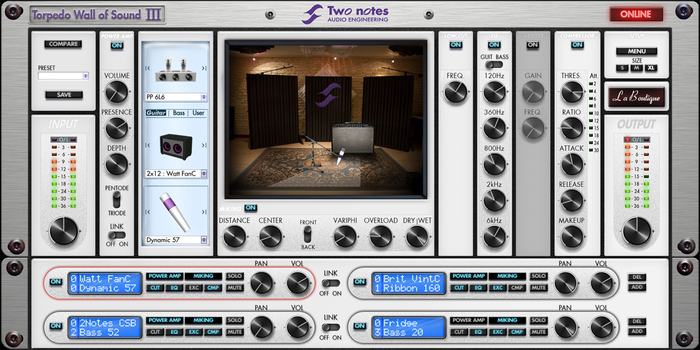 two notes audio engineering torpedo pi 101 wos iii image 997174 audiofanzine. Black Bedroom Furniture Sets. Home Design Ideas