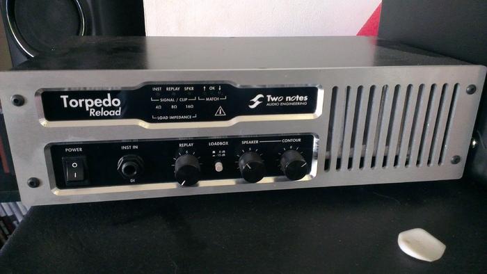 two notes audio engineering torpedo reload image 1164336 audiofanzine. Black Bedroom Furniture Sets. Home Design Ideas